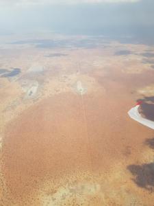 Grenze zu Botswana